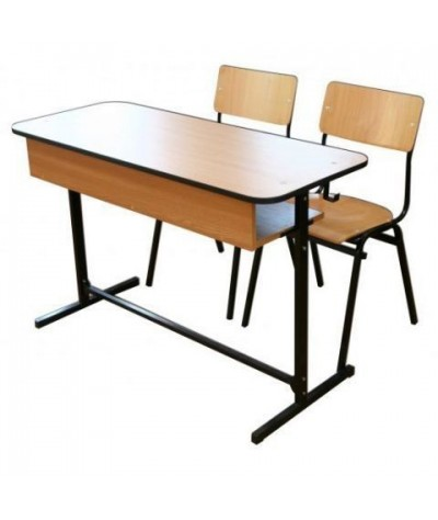 Banca scolara dubla cu 2 scaune - FIRST-G