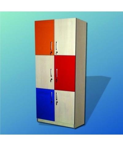 Dulap vestiar 6 casete OPTIM