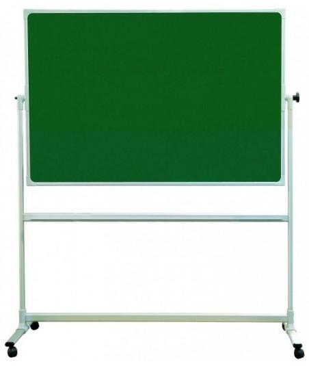 Tabla scolara verde pe suport mobil