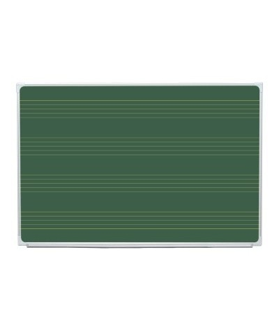 Tabla scolara magnetica cu suprafata liniata muzica