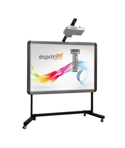 Pachet Tabla interactiva 2x3 Esprit Dual Touch, 174×123 cm/80+...
